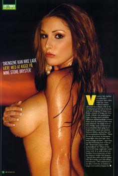 Горячая Люси Пиндер в журнале M!, Ноябрь 2005