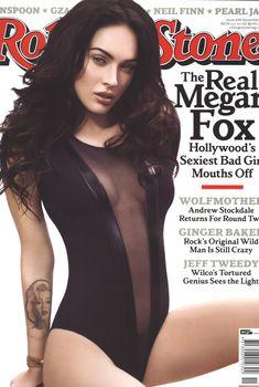 Возбуждающая Меган Фокс  в журнале Rolling Stone, Сентябрь 2009
