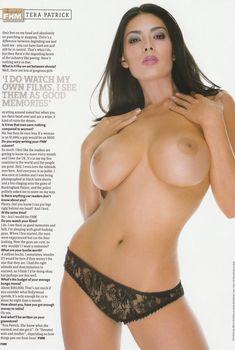 Голая грудь Теры Патрик засветилась в журнале FHM, Май 2006