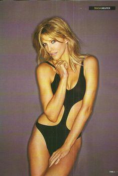 Секси Триша Хелфер  в журнале FHM, Ноябрь 2009