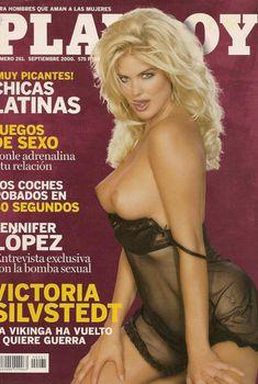 Сисястая Виктория Сильвстедт  в журнале Playboy, Сентябрь 2000