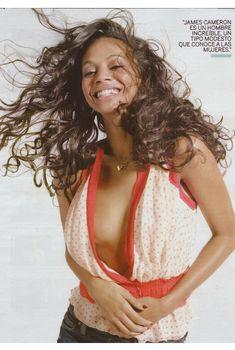 Секси Зои Салдана  в журнале Fotogramas, Июнь 2010