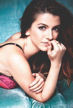 Сексуальная Бьянка Хаазе в белье снялась в журнале Maxim, Сентябрь 2015