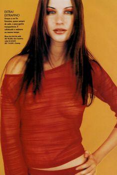 Сексуальная Жизель Бюндхен в журнале Elle, Октябрь 1998