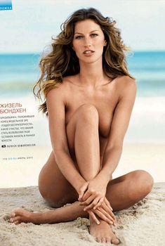 Аппетитная красотка Жизель Бюндхен в журнале GQ, Август 2011