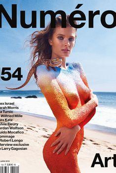 Сексуальное тело Констанс Яблонски в журнале Numero, Июнь 2014