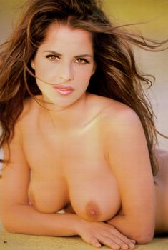 Голые сиськи Келли Монако  в журнале Playboy's Nudes, Январь 1999