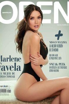 Сексуальная Марлене Фавела в соблазнительном купальнике снялась в журнале Open, Август 2015