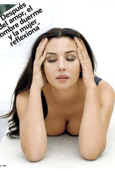 Сексапильная Моника Беллуччи  в журнале Max, Февраль 2010