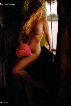 Красивая Рэйчел Хантер снялась голой в журнале Playboy, Июнь 2004