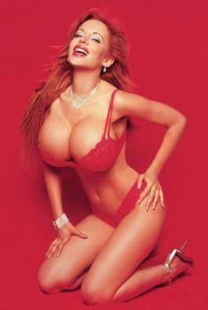 Грудастая Сабрина Саброк снялась в журнале Oh! Yeah!, 2013