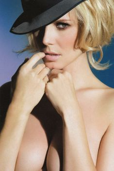 Хайди Клум разделась для журнала Max, Март 2007
