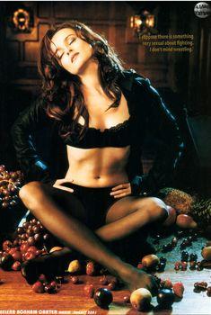 Эротичная Хелена Бонем Картер  в журнале Maxim, Август 2001