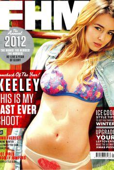 Эротичная Кили Хэзелл в бикини снялась в журнале FHM, Январь 2013
