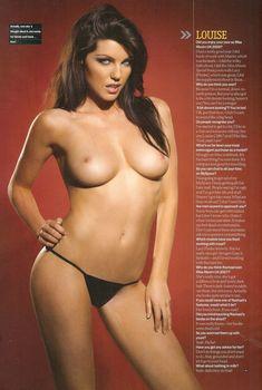 Голая грудь Луиз Клайфф и Ракл Кордингли в журнале Maxim, Январь 2008