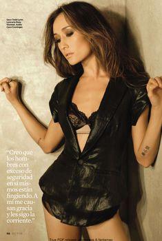 Красивая Мэгги Кью на эротических фото в журнале Esquire, Октябрь 2010