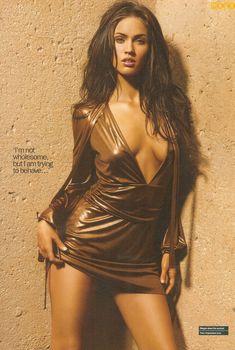Горячая Меган Фокс  в журнале Maxim, Февраль 2008