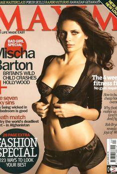 Эротичная Миша Бартон  в журнале Maxim, Апрель 2008