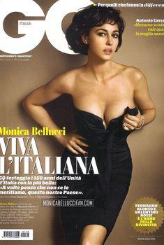 Эротичная Моника Беллуччи  в журнале GQ, Март 2011