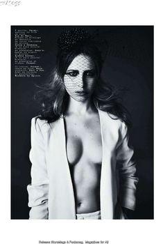 Эротичная Дэйзи Лоу  в журнале Jalouse, Февраль 2011
