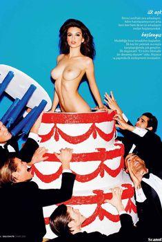 Соблазнительная Эмили Ратаковски оголилась в журнале GQ, Март 2013