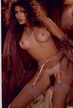Абсолютно голая Джессика Ли снялась в журнале Playboy, Август 1996
