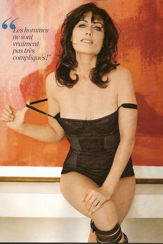 Аппетитная Лиза Эдельштейн в белье для журнала FHM, Май 2009