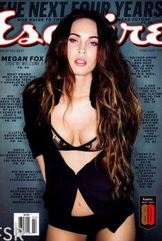 Секси Меган Фокс  в журнале Esquire, Февраль 2013
