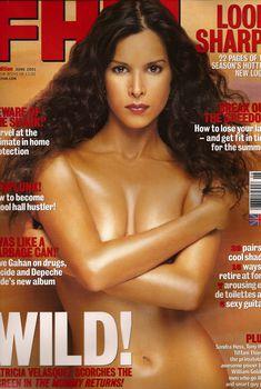 Сексуальная Патрисия Веласкес снялась в журнале FHM, Июнь 2001
