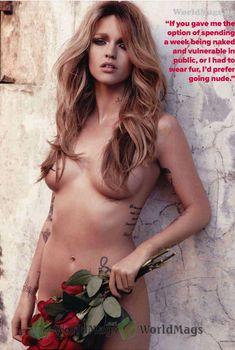 Обнажённая Руби Роуз позирует в журнале Maxim, Октябрь 2011