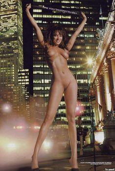 Абсолютно голая Саша Нопф снялась в журнале Playboy, Сентябрь 2001