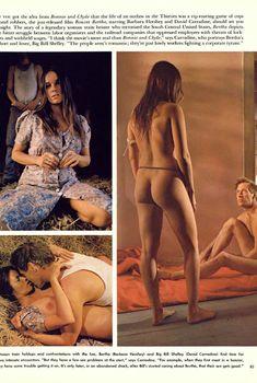 Сексуальная Барбара Херши обнажилась в журнале Playboy, Август 1972