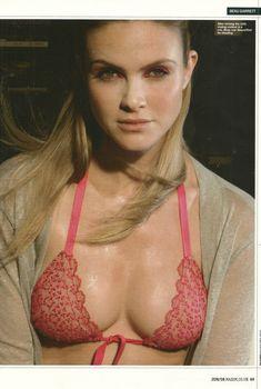 Сексуальная Бо Гарретт в бикини для журнала Maxim, Июнь 2008
