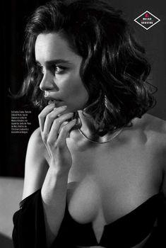 Эротичная Эмилия Кларк  в журнале Esquire, Февраль 2016