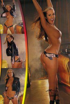 Неугомонная Джессика Бартон оголилась в журнале Playboys Vixens, Август 2005