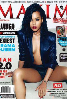 Секси Керри Вашингтон  в журнале Maxim, Июль 2013
