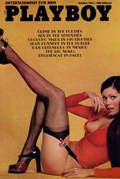 Заманчивая Симонетта Стефанелли обнажилась в журнале Playboy, Март 1974