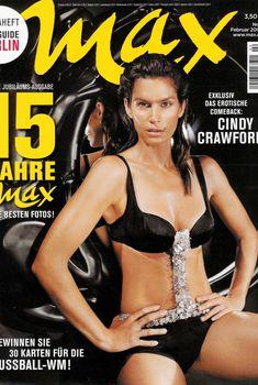Секси Синди Кроуфорд  в журнале Max, Февраль 2006