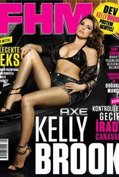 Соблазнительная Келли Брук в журнале FHM, Сентябрь 2013