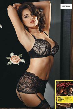 Сексапильная Келли Брук для журнала Nuts, Ноябрь 2013