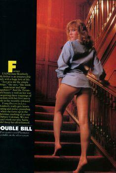 Обнаженная Кимберли МакАртур  в журнале Playboy, Ноябрь 1982