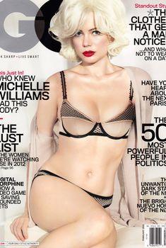 Секси Мишель Уильямс  в журнале GQ, Февраль 2012