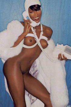 Наоми Кэмпбелл снялась голой  в журнале Playboy, Декабрь 1999