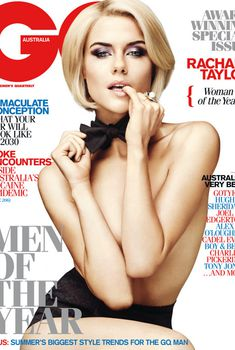 Сексуальная Рэйчел Тейлор снялась в журнале GQ, Декабрь 2011
