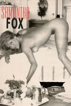 Игривая Саманта Фокс разделась в журнале Playboys Nude Celebrities, Апрель 1997