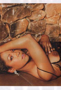 Обнажённая Стейси Дэш позирует в журнале Playboy, Январь 2007