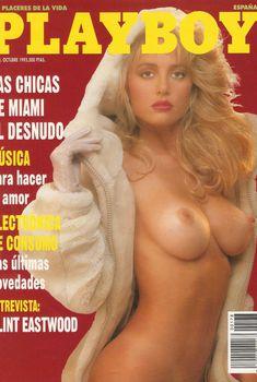 Абсолютно голая Сьюзи Симпсон снялась в журнале Playboy, Октябрь 1993