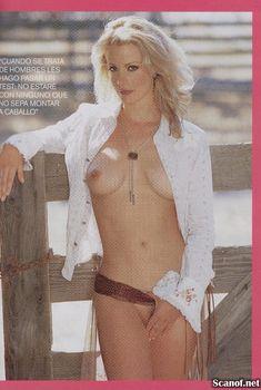 Горячая Элисон Иствуд оголилась для журнала Playboy, Февраль 2003