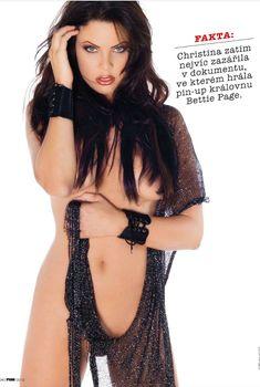 Эротичная Криста Кэмпбелл  в журнале FHM, Май 2012