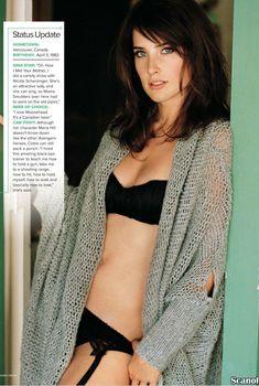 Эротичная Коби Смолдерс в белье для журнала Maxim, Июль 2012